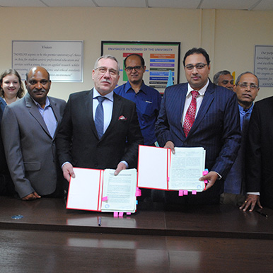 Signing of Technical Collaboration Agreement with KAI Composite