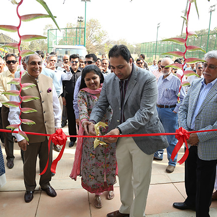 PRESTIGE GARDEN BAY WAS INAUGURATED BY MR & MRS.SHANTHARAM